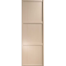 "Shaker Sliding Wardrobe Door 762mm (30"") Maple Panel Door"